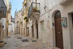 alleyway Rutigliano La Puglia L'Italia Fotografie Stock