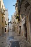 alleyway Rutigliano La Puglia L'Italia Fotografie Stock Libere da Diritti