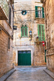 alleyway Rutigliano La Puglia L'Italia Fotografia Stock Libera da Diritti