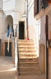 alleyway Rutigliano La Puglia L'Italia Immagini Stock