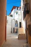 alleyway Rutigliano La Puglia L'Italia Fotografia Stock