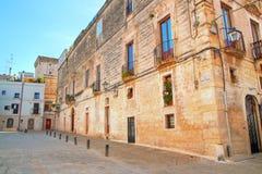 alleyway Rutigliano La Puglia L'Italia Immagine Stock Libera da Diritti