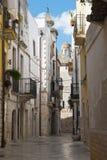 alleyway Rutigliano Puglia Italië stock afbeeldingen