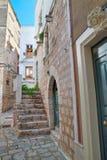Alleyway. Rutigliano. Puglia. Italy. Royalty Free Stock Photos
