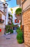 Alleyway. Rutigliano. Puglia. Italy. Royalty Free Stock Photo
