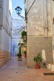Alleyway. Rutigliano. Puglia. Italy. Stock Photography