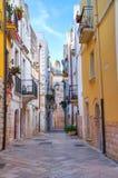 Alleyway. Rutigliano. Puglia. Italy. Stock Photos