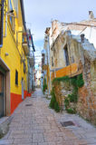 Alleyway. San Giovanni Rotondo. Puglia. Italy. Royalty Free Stock Photo
