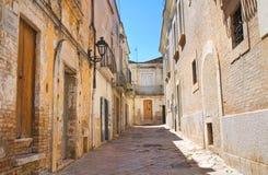 alleyway San Severo La Puglia L'Italia Immagine Stock Libera da Diritti