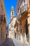 alleyway San Severo La Puglia L'Italia Fotografie Stock