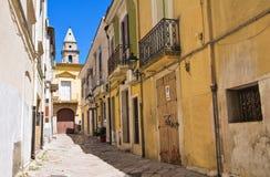 alleyway San Severo La Puglia L'Italia Immagine Stock