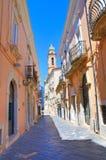 alleyway San Severo La Puglia L'Italia Fotografia Stock