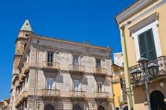alleyway San Severo Puglia Italië Royalty-vrije Stock Afbeelding