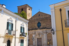 alleyway San Severo Puglia Italië Royalty-vrije Stock Foto