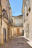 alleyway San Severo Puglia Italië Royalty-vrije Stock Afbeeldingen