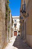 Alleyway. San Severo. Puglia. Italy. Stock Photos