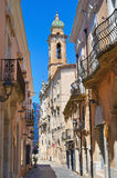 Alleyway. San Severo. Puglia. Italy. Royalty Free Stock Photos