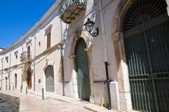 Alleyway. San Severo. Puglia. Italy. Royalty Free Stock Image