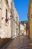 Alleyway. San Severo. Puglia. Italy. Royalty Free Stock Photo
