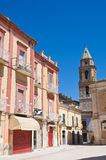alleyway San Severo Puglia Włochy Zdjęcie Royalty Free