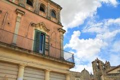 alleyway Sassi di Matera La Basilicata L'Italia Fotografie Stock