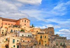 alleyway Sassi di Matera La Basilicata L'Italia Immagine Stock Libera da Diritti