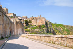 alleyway Sassi di Matera La Basilicata L'Italia Fotografia Stock