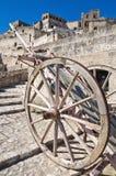 Alleyway. Sassi of Matera. Basilicata. Italy. Royalty Free Stock Photo
