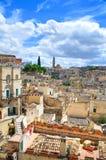 Alleyway. Sassi of Matera. Basilicata. Italy. Stock Photography