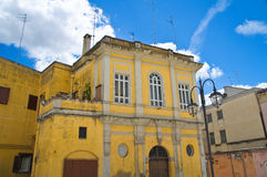 Alleyway. Sassi of Matera. Basilicata. Italy. Stock Photos