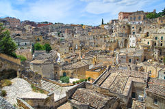 Alleyway. Sassi of Matera. Basilicata. Italy. Stock Photo