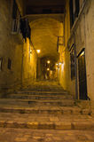 Alleyway. Sassi of Matera. Basilicata. Italy. Royalty Free Stock Images