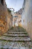 Alleyway. Sassi of Matera. Basilicata. Italy. Stock Image