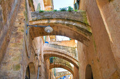 Alleyway. Sassi of Matera. Basilicata. Italy. Stock Images