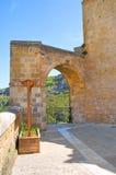Alleyway. Sassi of Matera. Basilicata. Italy. Royalty Free Stock Image
