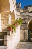 alleyway Sassi van Matera Basilicata Italië Royalty-vrije Stock Foto
