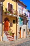 alleyway Satriano di Lucania Italia Fotografía de archivo