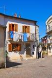 alleyway Satriano di Lucania Italia Imagen de archivo