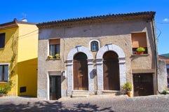 alleyway Satriano di Lucania Italia Imágenes de archivo libres de regalías