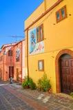 alleyway Satriano di Lucania Italia Imagen de archivo libre de regalías