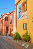 Alleyway. Satriano di Lucania. Italy. Royalty Free Stock Images