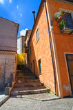 Alleyway. Satriano di Lucania. Italy. Stock Images
