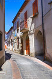 Alleyway. Satriano di Lucania. Italy. Royalty Free Stock Photos