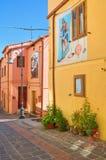 alleyway Satriano di Lucania L'Italia Immagini Stock Libere da Diritti