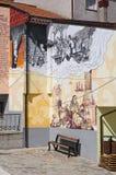 alleyway Satriano di Lucania L'Italia Immagine Stock