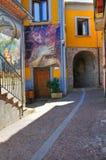 alleyway Satriano di Lucania L'Italia Fotografia Stock