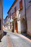 alleyway Satriano di Lucania L'Italia Fotografie Stock Libere da Diritti