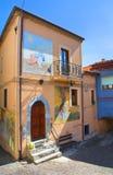 alleyway Satriano di Lucania L'Italia Fotografia Stock Libera da Diritti