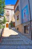 alleyway Satriano di Lucania L'Italia Fotografie Stock