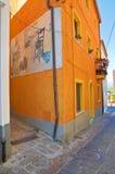 alleyway Satriano di Lucania L'Italia Immagini Stock